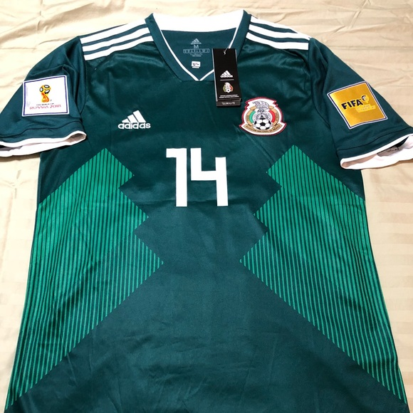 factory authentic 50af2 df665 Mexico World Cup Jersey-Chicharito 2018/19 Season NWT
